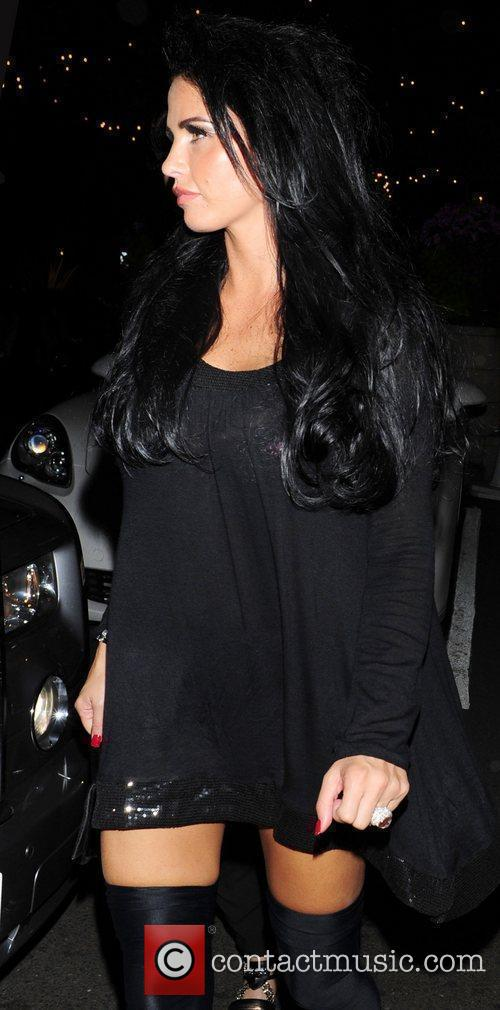 Katie Price aka Jordan  leaving 'The Expendables'...