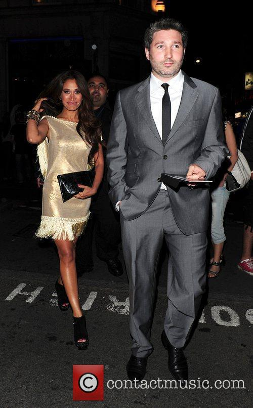 Preeya Kalidas and guest leaving 'The Expendables' after...