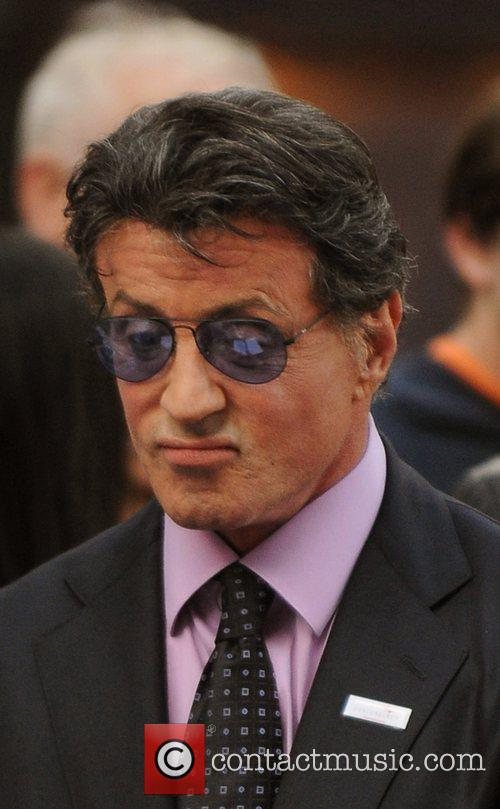 Slyvester Stallone  'The Expendables' - UK film...