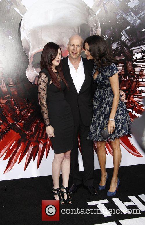 Bruce Willis and Rumer Willis 4