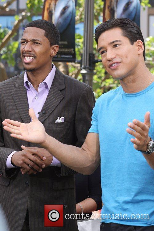 Mario Lopez and Nick Cannon 2