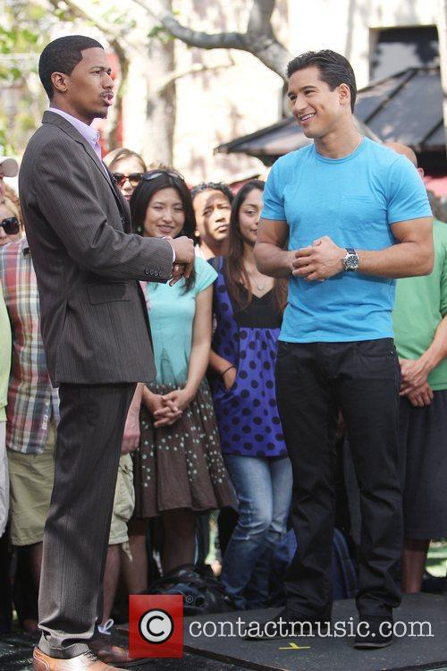 Mario Lopez and Nick Cannon 1