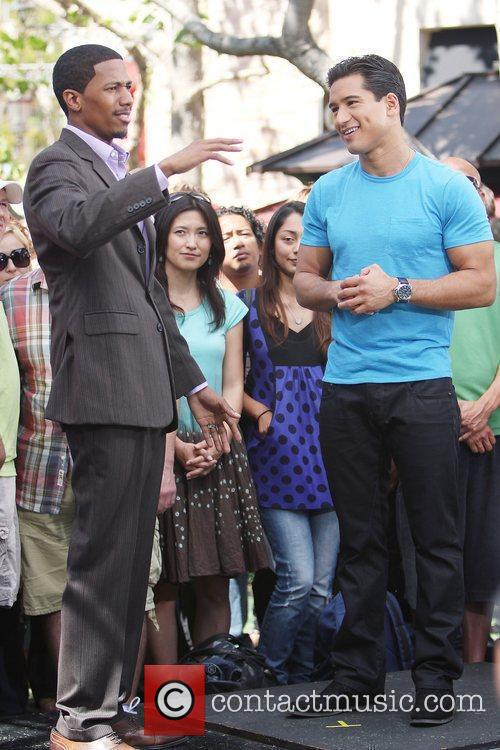 Mario Lopez and Nick Cannon 9