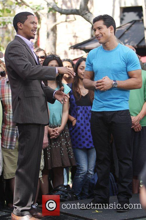 Mario Lopez and Nick Cannon 4
