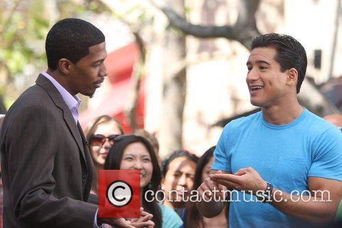 Mario Lopez and Nick Cannon 10