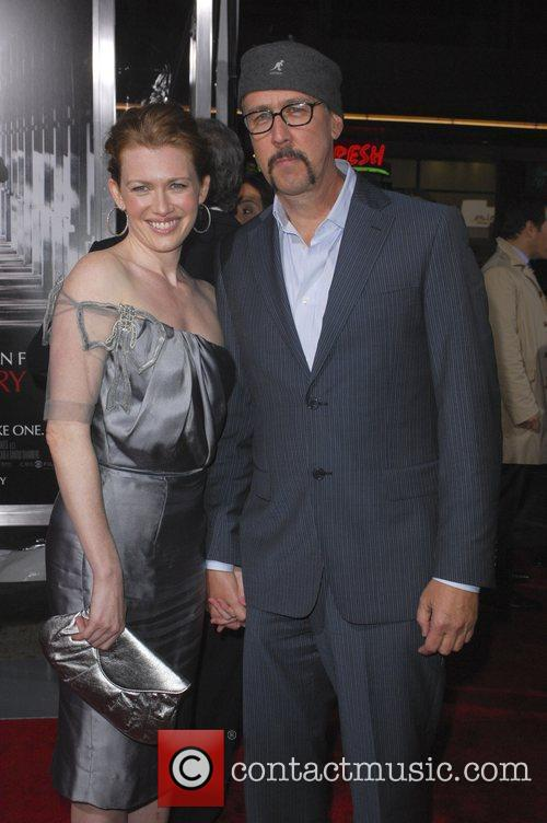 Alan Ruck and guest,  Premiere of 'Extraordinary...