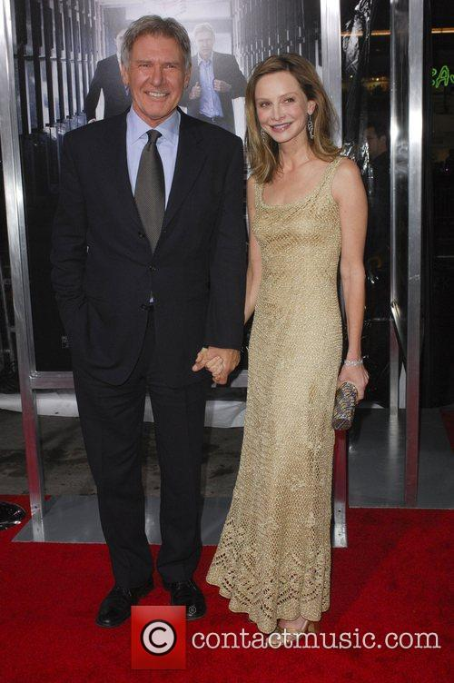 Calista Flockhart and Harrison Ford,  Premiere of...