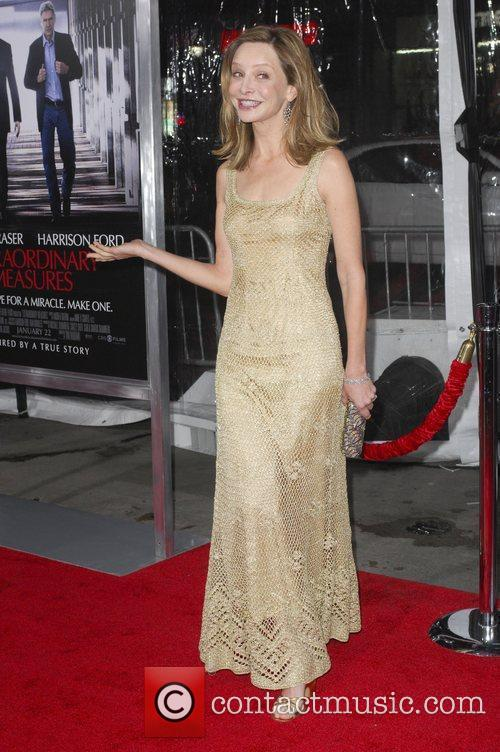 Calista Flockhart,  Premiere of 'Extraordinary Measures' at...