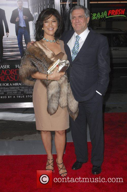 Julie Chen and Leslie Moonves,  Premiere of...