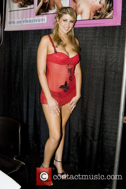 Athena Pleasures Adult Film Stars appear at Exxxotica...
