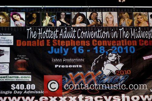 Atmosphere Adult Film Stars appear at Exxxotica 2010...