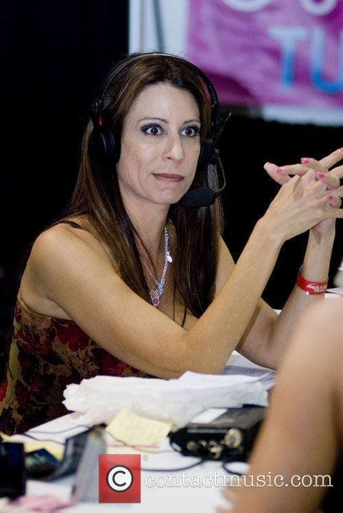 Christy Canyon Adult Film Stars appear at Exxxotica...