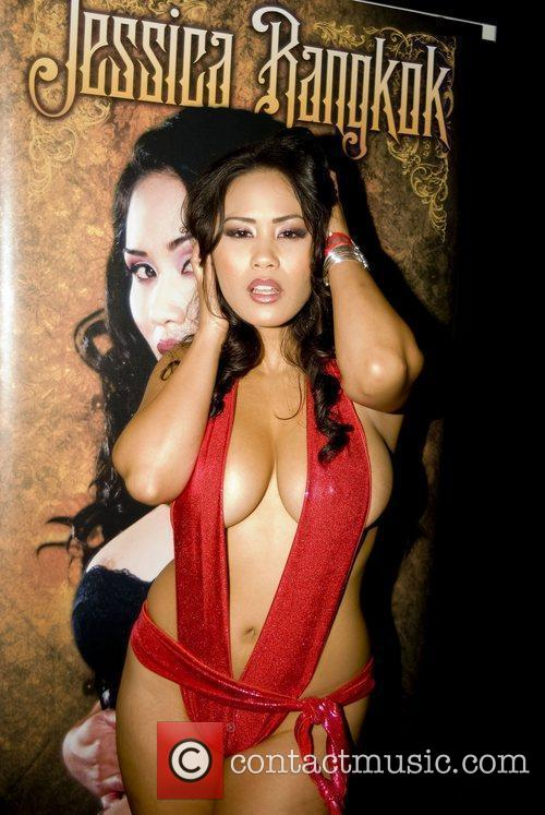 Jessica Bangkok Adult Film Stars appear at Exxxotica...