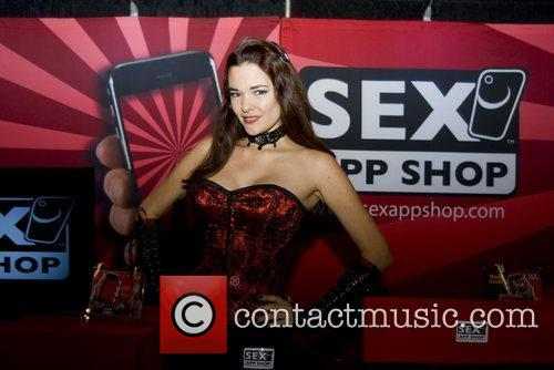 Model Adult Film Stars appear at Exxxotica 2010...