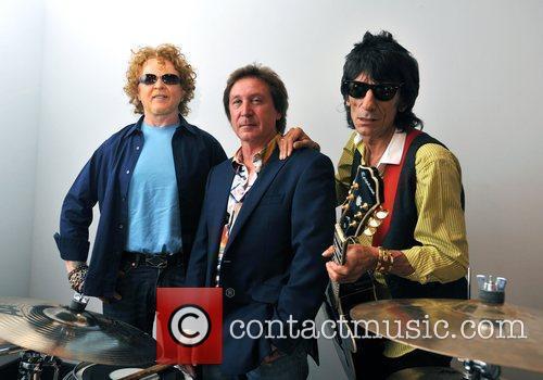 Mick Hucknall, Ronnie Wood, O2 Arena
