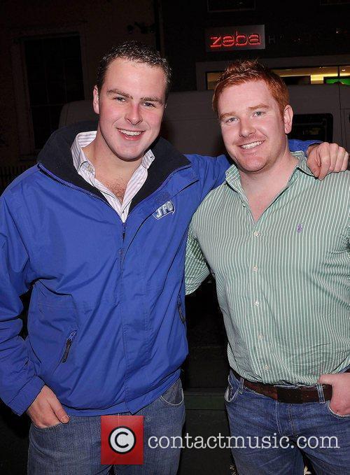 Breffny Morgan, Stephen Higgins,  Launch party of...