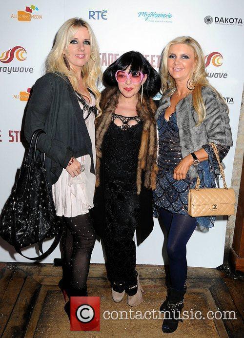 Roz Flanagan, Maria Fusco, Joan Palmer,  Launch...