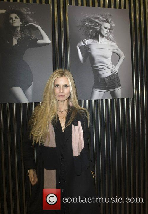 Fairtrade Fashion ambassador Laura Bailey stands by a...