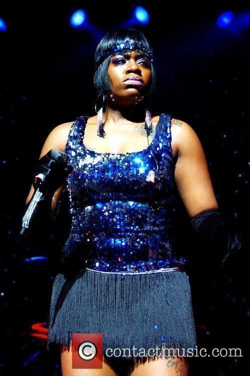 Fantasia performs during her 'Back To Me' tour...