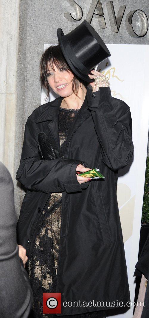 British Fashion Awards 2010 - Departures