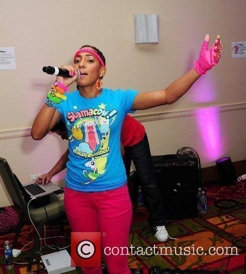 Pink Bubble Gum Band performs live at the...