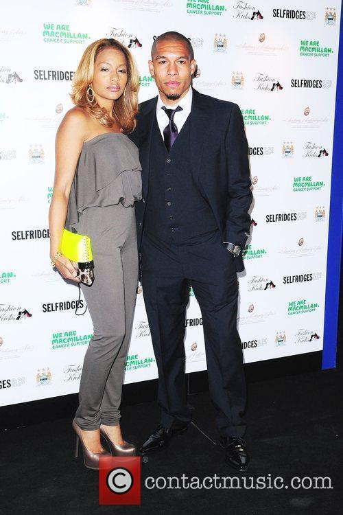 Nigel de Jong with beautiful, Wife Winona de Jong