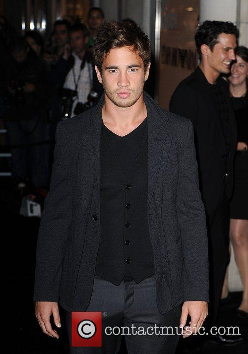 Danny Cipriani arriving at Fashion's Night Out at...