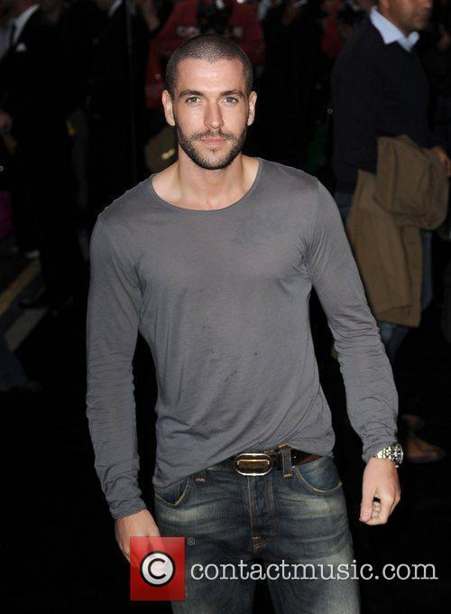 Shayne Ward arriving at Fashion's Night Out at...