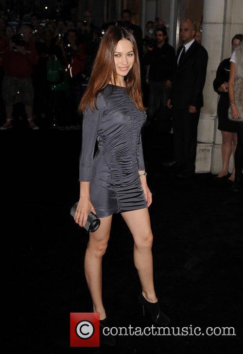 Olga Kurylenko arriving at Fashion's Night Out at...