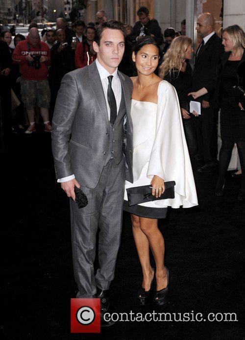 Jonathan Rhys Meyers and Reena Hammer arriving at...