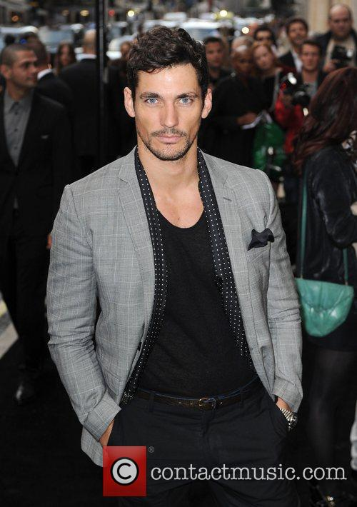 David Gandy arriving at Fashion's Night Out at...
