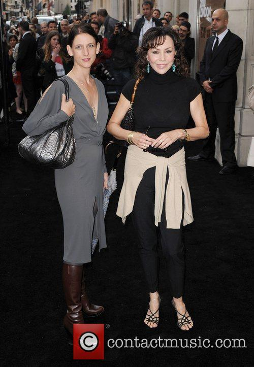 Maria Grachvogel and Marie Helvin arriving at Fashion's...