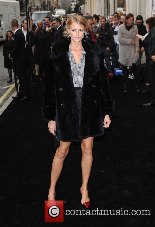 Jacquetta Wheeler arriving at Fashion's Night Out at...