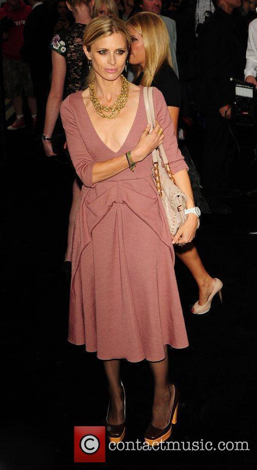 Laura Bailey Fashion's Night Out: Emporio Armani -...