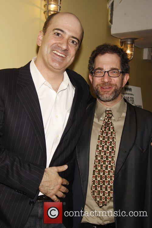 Matt Servitto and Jonathan Silverstein  Opening night...
