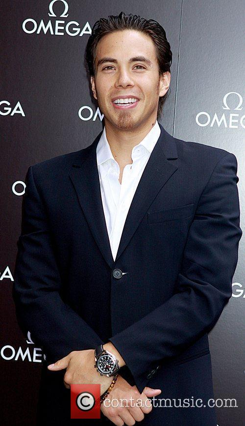 Olympic gold medalist Apolo Ohno celebrates Father's Day...