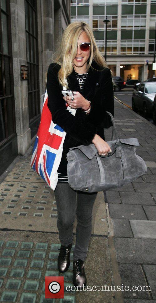 Leaving the BBC Radio 1 studios