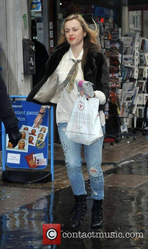 Fearne Cotton signing autographs after leaving the BBC...