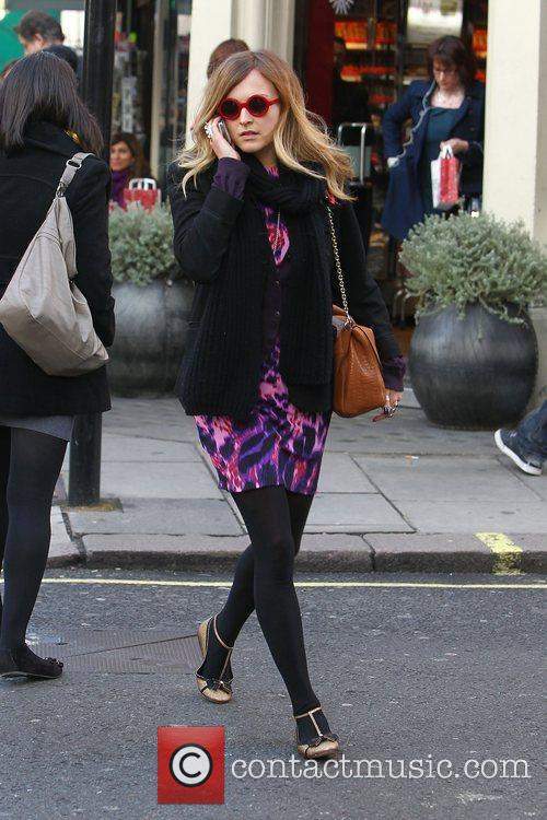 Fearne Cotton  leaving the BBC Radio 1...