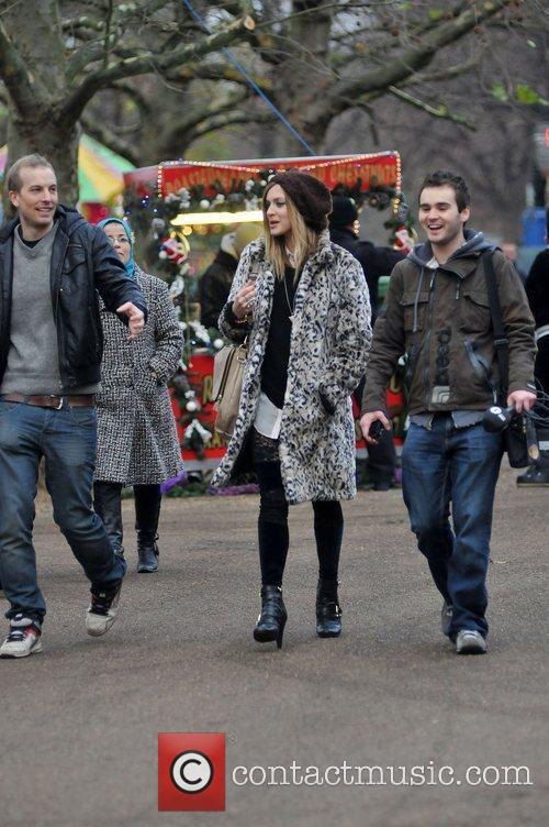 Fearne Cotton enjoys an afternoon out at Winter...