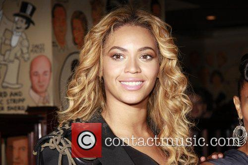 Beyonce Knowles  Post theater reception hosted by...