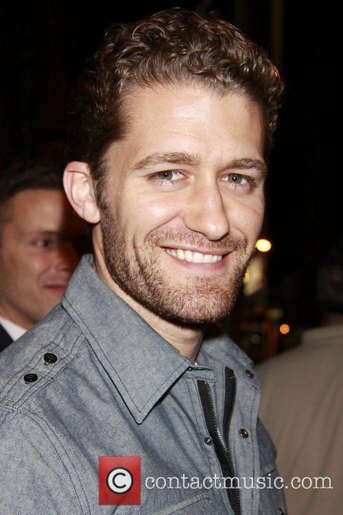 Matthew Morrison from the television show 'Glee'...