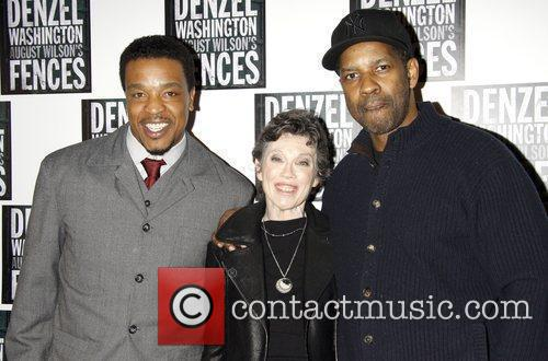Russell Hornsby and Denzel Washington 6