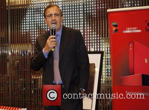 Alain Giorgio Maria Economides  attends the Ferrari...