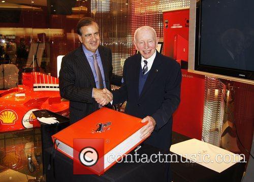 Alain Giorgio Maria Economides and John Surtees attend...