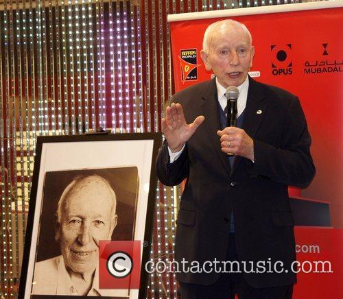 John Surtees attends the Ferrari Opus Event at...