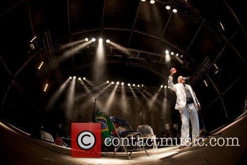 Performing live at 'Festas do Mar' in Baia...