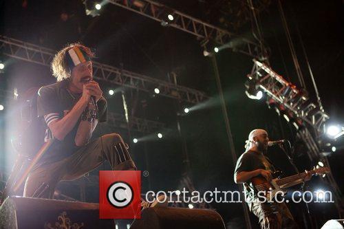 Gogol Bordello performing at Optimus Alive! 2010 at...