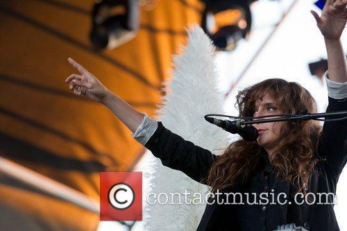 Victoria Legrand of Beach House,  performing at...