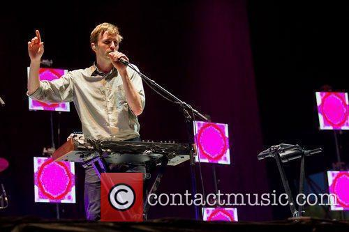 Dan Whitford of the band Cut Copy,...